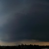 Right before we bailed away from the hail. You can see an outer band develop as this storm rotated.
