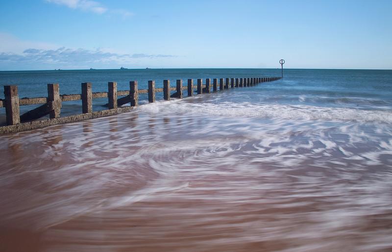 The Beach Aberdeen Scotland.