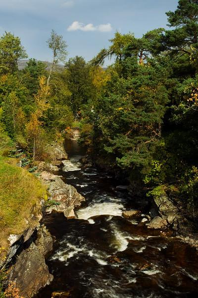 River Clunie Braemar Aberdeenshire.