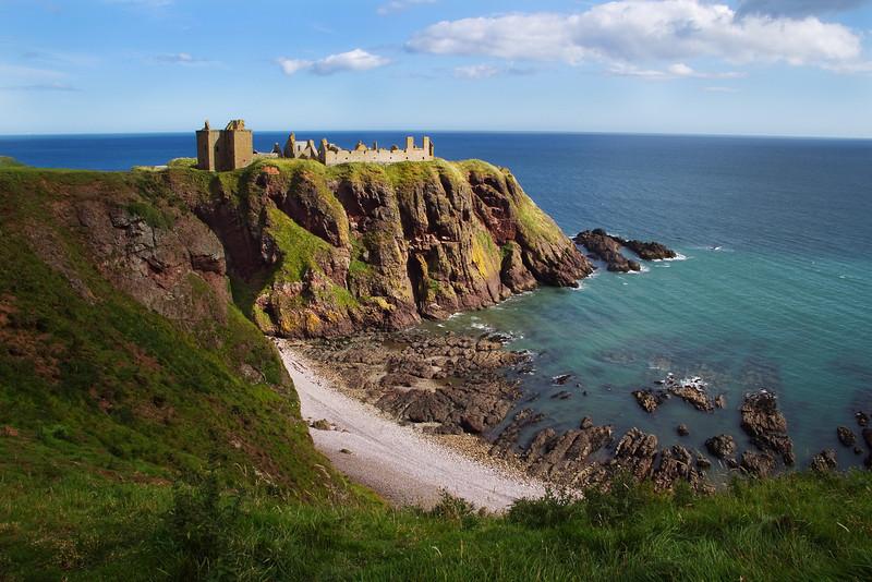 Dunnottar Castle. Stonehaven. Aberdeenshire. Scotland.