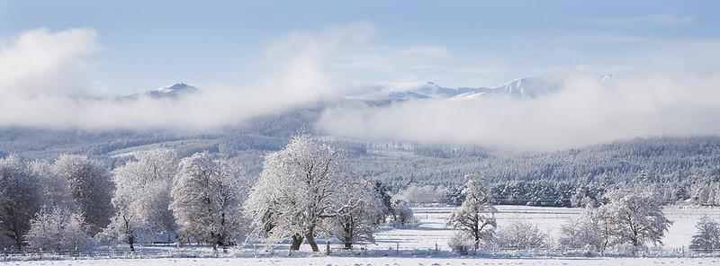 Grampian mountains.