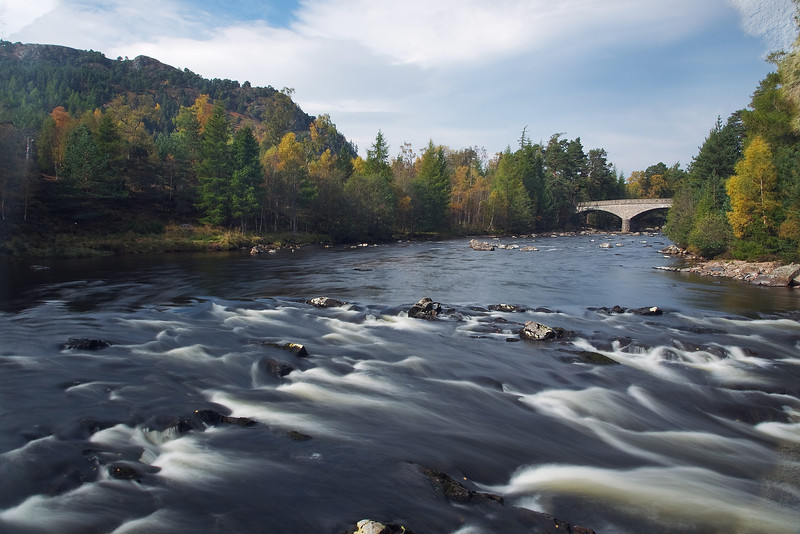 The River Dee at Invercauld Aberdeenshire. Picture in the Local Newspaper.