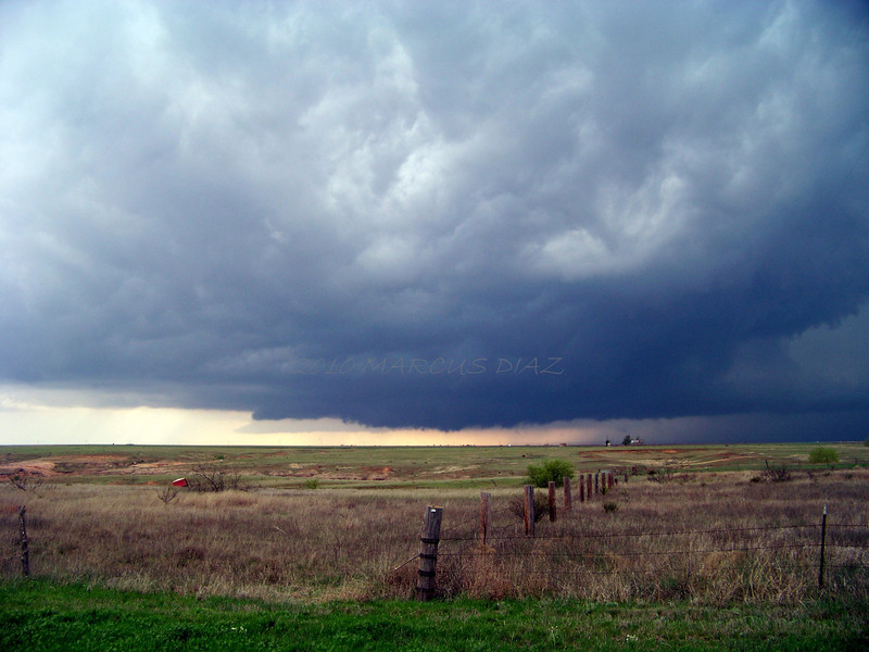 April 22, 2010<br /> <br /> Now moved south along HWY 70 to get storm #2 that has already spawned 1 violent tornado.