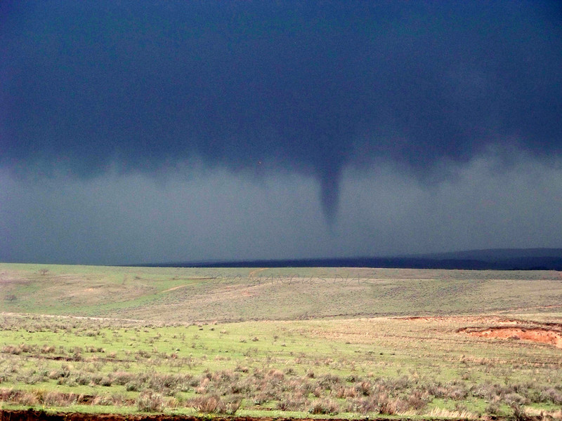 April 22, 2010<br /> <br /> Tornado lifting now, but the storm would go on to produce several more small tornadoes.