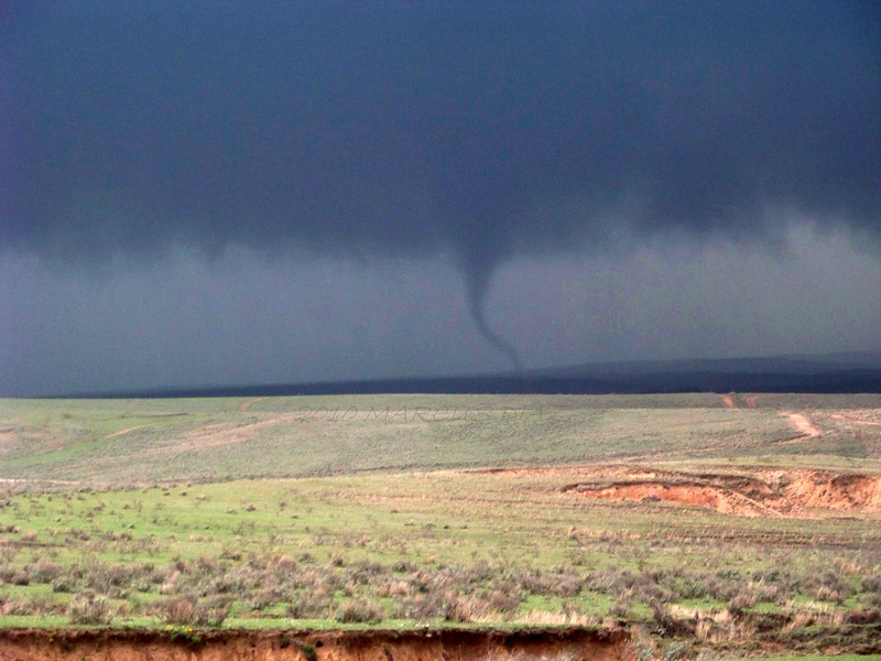 April 22, 2010<br /> <br /> Very nice tornado, despite the terrible contrast of that day.
