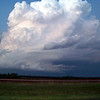 April 21, 2010<br /> <br /> Now near Matador, TX where our convection has also corkscrewed into a mini supercell.