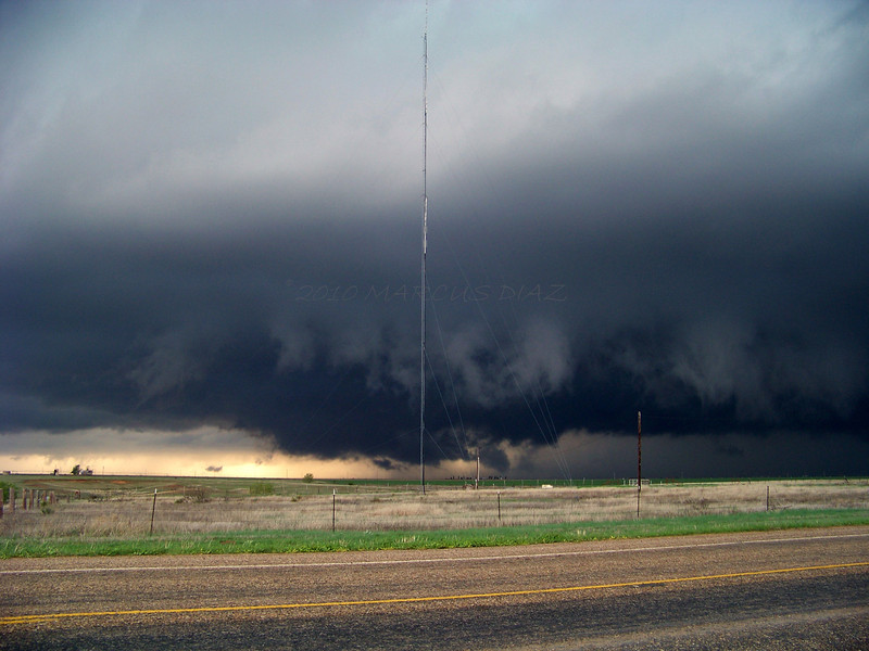 April 22, 2010<br /> <br /> The swirling base grew darker, and the wind really picked up!