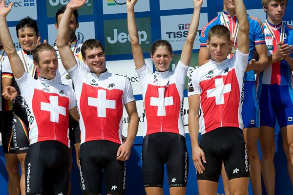 Switzerland Team - Gold Medal
