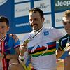 Jaroslav Kulhavy - Czech Republic / Jose Antonio Hermida Ramos - Spain / Burry Stander - South Africa