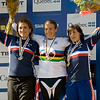 Sabrina Jonnier - France / Tracy Moseley - Great Britain / Emmeline Ragot - France