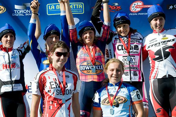Elite Women + Junior Women  Podium