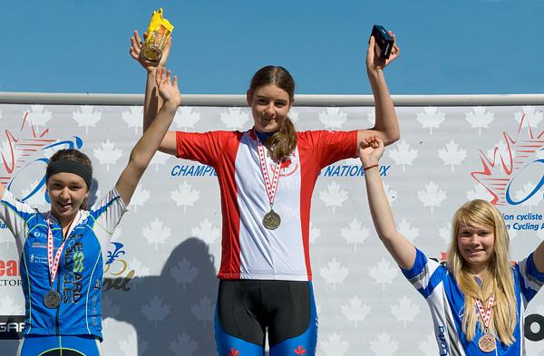 U17 Women<br /> Gabrielle April, Amanda Wakeling, Emily De Freitas