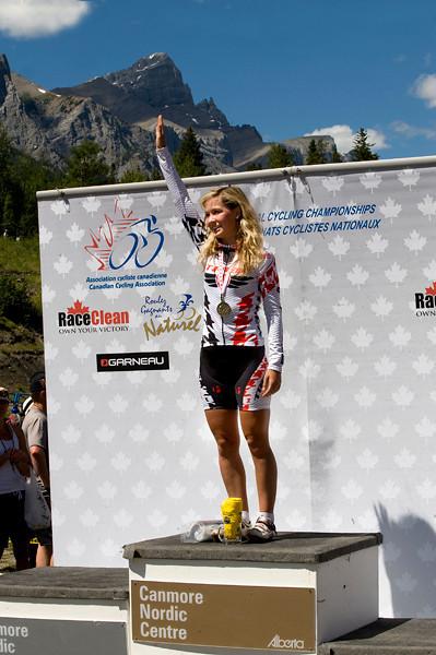 U23 Women winner Emily Batty - Trek World Racing