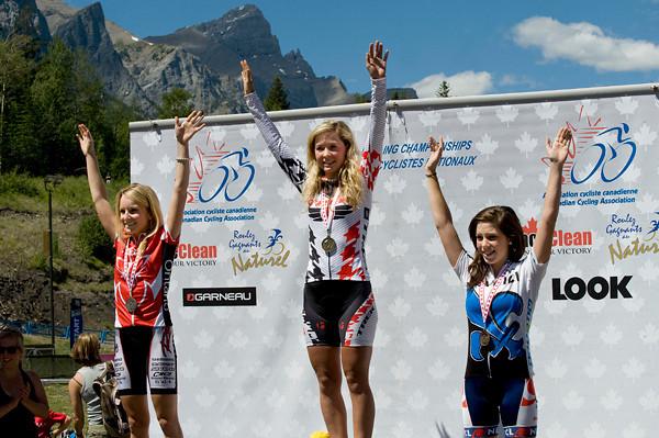 U23 Women<br /> Mikaela Kofman, Emily Batty , Rebecca Beaumont