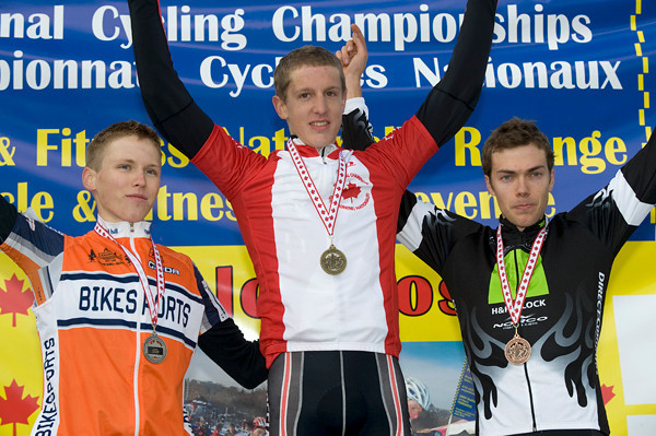 Jared Stafford - BikeSports Racing Team / Evan McNeely - EMD Serono - Specialized CC / Garrett McLeod - Team H&R Block