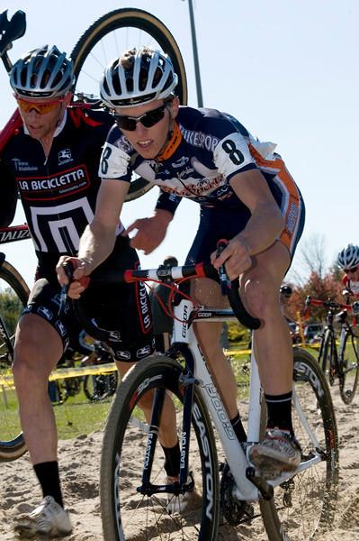 Osmond Bakker - La Bicicletta Elite Team / Jared Stafford - Bikesports Racing Team