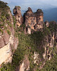 Three sisters, Blue Mountains New South Wales.
