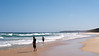 The beach in Ulladulla, New South Wales.