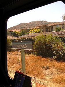 We started out journey on the train from Irvine to Los Angeles, where we boarded the Amtrak Coast Starlight again like we did in 2008!