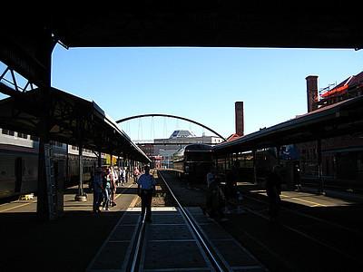 Portland Amtrak station.