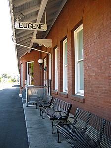 Eugene Amtrak station.
