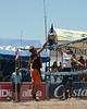 Men's final in Campeonato Nacional de Voleibol de Playa at Playa de Jaco, Jaco Costa Rica.