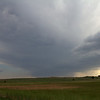 4:59 pm | 3 mi NW of Mutual, OK<br /> <br /> Looking southwest at our developing storm.