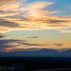 Sunset near Raton, NM.
