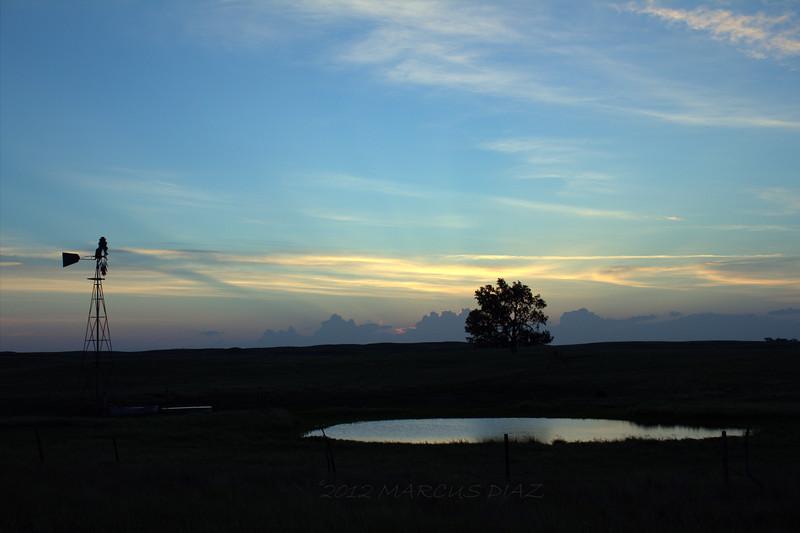 Caught a gorgeous sunrise near North Platte.