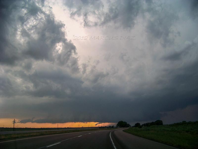 Supercell near Clarendon, TX | April 30, 2012