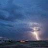Lightning strike west of Amarillo, TX | July 24, 2012