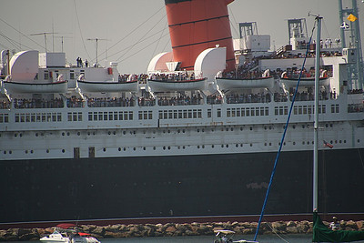 But the folks on the Queen Mary were there for one reason only...