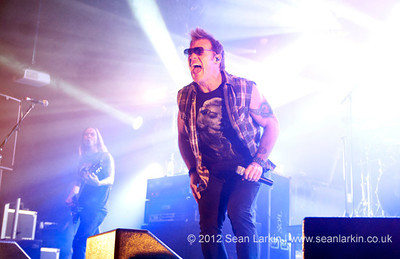Fozzy at Hard Rock Hell VI