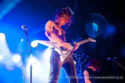 Jettblack at Hard Rock Hell VI 2012