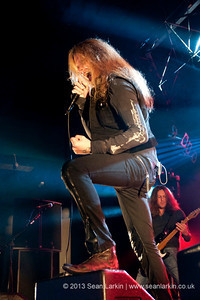 Sebastian Bach at Hard Rock Hell VI