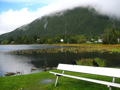 Swan Lake, Sitka, Alaska.