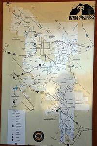 Anza Borrego map.