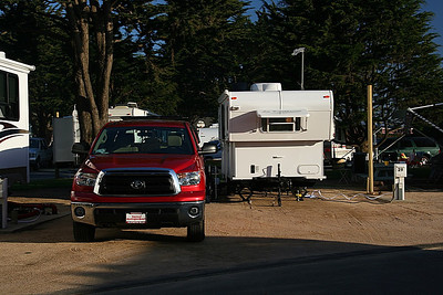 Camp 1.  Pismo RV Park, right on the beach!