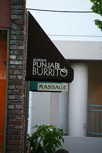 Not that Punjabi Burrito isn't interesting enough on it's own, but...