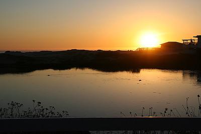 Sunset in Pismo.