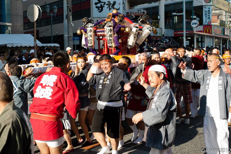 Parade in Naha, Okinawa.