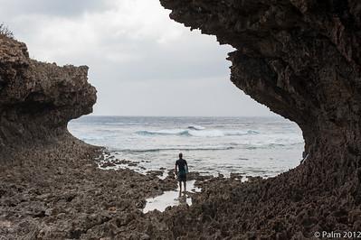 Secret surf spot south of Naha airport, Okinawa.