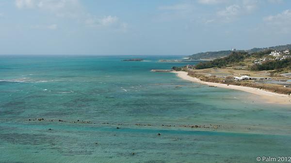 South east coast of Okinawa.