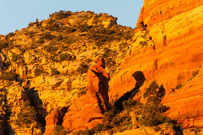 Sunrise in Sedona, AZ.