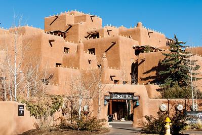 The Loretto, Santa Fe, New Mexico.