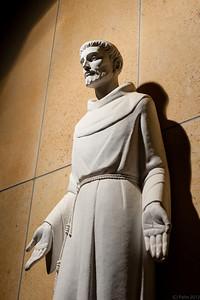 St Francis of Assisi at the Cathedral Basilica of St Francis of Assisi, Santa Fe, New Mexico.