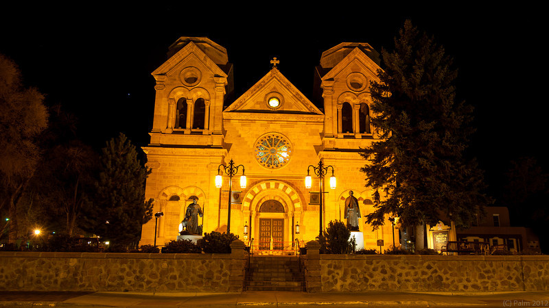 Cathedral Basilica of St Francis of Assisi, Santa Fe, New Mexico.