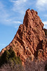 Rock climbers in the Garden of the Gods, Colorado Springs, Colorado.