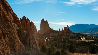 Garden of the Gods, Colorado Springs, Colorado.