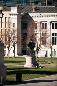 Civic Center Park, Denver, Colorado.